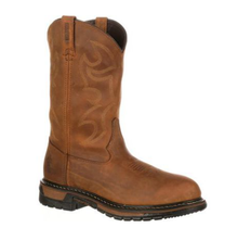 """Rocky Boots Men's Original Ride 10"""" Aztec Crazy Horse FQ0002733"""