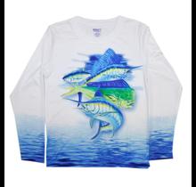 Kobalt 1 Boy's Performance Fish Graphic Shirt 7646388
