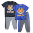 S1ope S1OPE Boy's Tiger Savage Top w/ Jogger Set 6221204 (4-7)