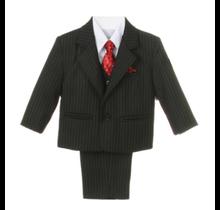 Generis Little Boy's 5pc Striped Suit (Sizes 1-7)