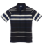 GIOBERTI Striped Short Sleeve Polo Jersey with Chest Pocket PS-932