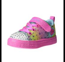 Skechers Little Girls' Lighted Twinkle Toes Sneaker 314909N (Infant)