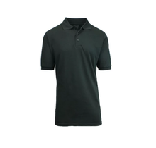 Galaxy Unisex School Uniform Polo   Black