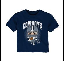 Dallas Cowboy Toddler Gummy Player S/S Tee