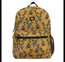 Dickies Backpack Student Floral Mustard 27087 727