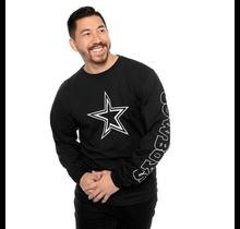 Dallas Cowboys Mens Schaefer Long Sleeve T-Shirt