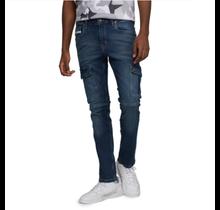 Ecko Unltd. Men's Skinny Cargo Snapped Jeans