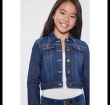 YMI Jeans Girl's Basic Denim Jacket GJ15276
