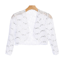 EVA USA Lace Sequins Cardigan 3278WH
