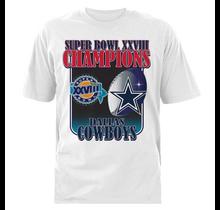 Dallas Cowboys Mens Super Bowl XVIII '94 Short Sleeve T-Shirt