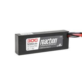 Dynamite 9005EC Reaction 7.4V 5000mAh 2S 30C LiPo Hard Case: EC3