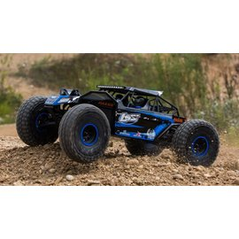 Losi 03009T2 1/10 Rock Rey 4WD Brushless RTR with AVC, Blue