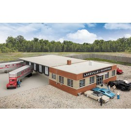 Walthers Walthers 4131 Cross-Dock Truck Facility HO