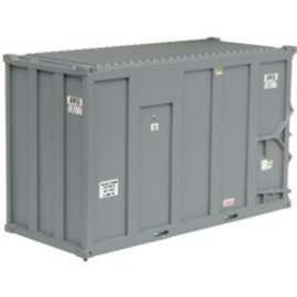 Atlas 50003452 20' High-Cube MSW Container, AMIU/1000 1 (4) N