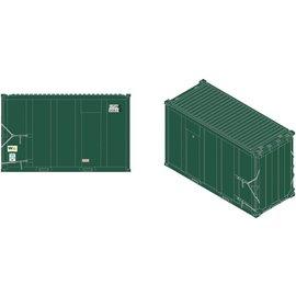 Atlas 50003458 20' High-Cube MSW Cont, USWX/Dlb Zero#1 (4) N