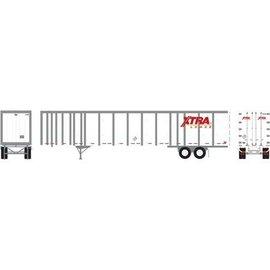 Athearn 72612 53' Wabash Plate Trailer, XTRA #U471438 HO