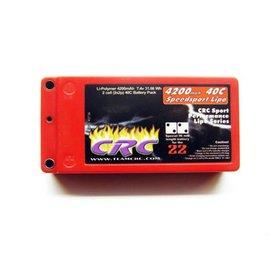 CLN 3736 Shorty 7.4V 4200mah 40C Lipo Battery