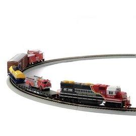 Athearn 14264 First Responder Train Set, NS HO