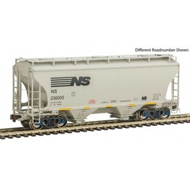 American Limited Models 1060 Trinity 3281 2-Bay Covered Hopper NS 236198 HO