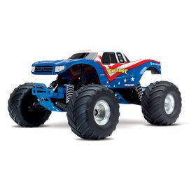 Traxxas Traxxas 36084-1 BIGFOOT The Original Monster Truck, Summit Silver, RTR W/