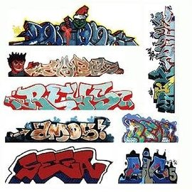 BLAIR LINE 1246 Graffiti, Mega Set #3 N