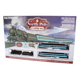 Bachmann 00751 NORTH POLE EXPRESS Train Set HO