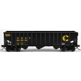 Bowser 41815 70-Ton 14-Panel Hopper, CHSY/CSXT #800329 HO