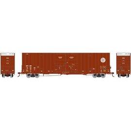 Athearn 75075 60' Gunderson DD HC Box, BNSF/Railway #1 HO