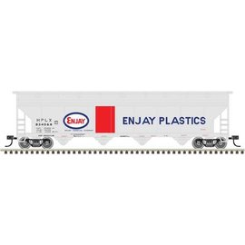 Atlas 500003517 N Trainman5250Covered Hopper,Enjay Plastics#834001