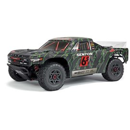 Arrma 102673 1/10 SENTON 6S BLX SC Brushless Truck 4WD RTR, Black/Green
