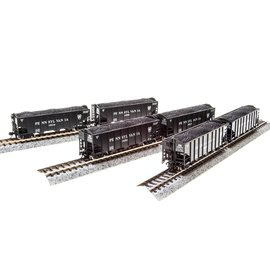 Broadway Limited Imports 3649 N&W H2a Hopper, PRR Lettering,6-pack E, N