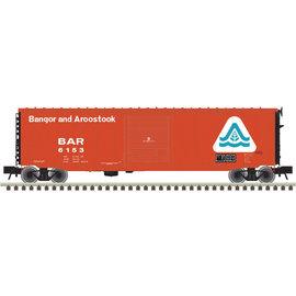 Atlas 3005709-10 Pullman-Standard PS-1 50' Single-Door Boxcar - 3-Rail Ready to Run - Master O