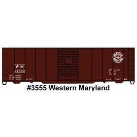 Accurail 3555 AAR 40' Single-Door Steel Boxcar - Kit HO
