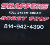 Shaffer's Full Steam Ahead Hobby Shop