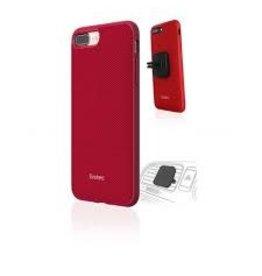 Evutec Evutec  AERGO Ballistic Nylon Case w/Vent Mount for iPhone 6/6S/7/8 Plus Red