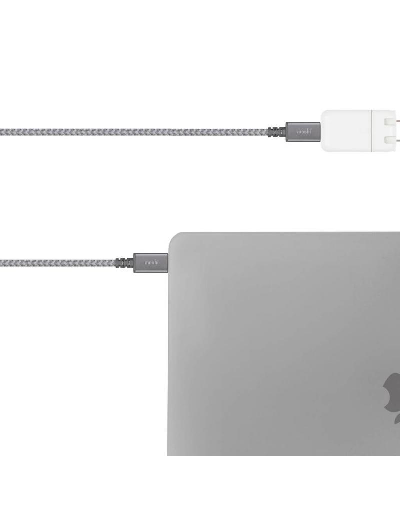 Moshi Moshi Integra USB-C to USB-C cable 6.6ft (2m) - Black