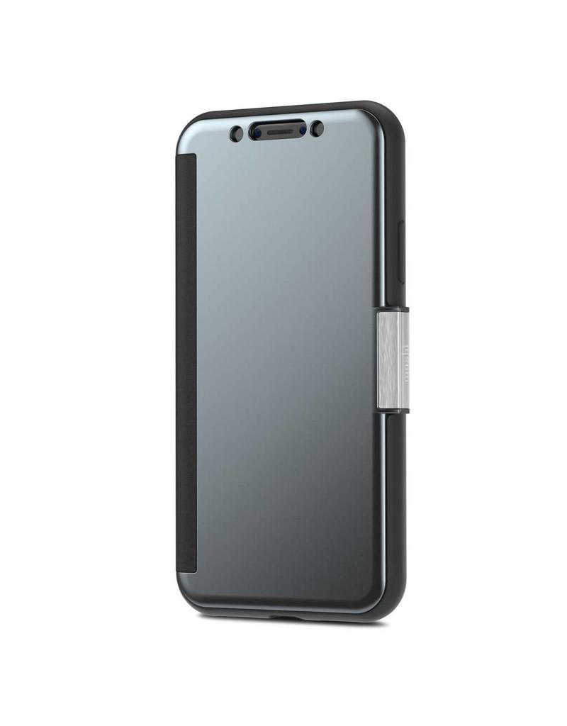 premium selection cd468 42633 Moshi Moshi (Apple Exclusive) Stealth Cover for iPhone X - Gunmetal Gray
