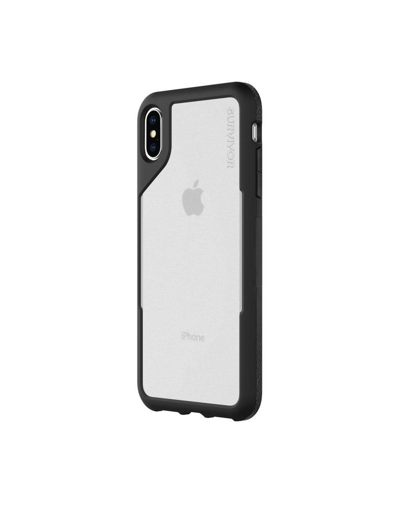 Griffin Griffin Survivor Endurance for iPhone XS Max - Black/Gray