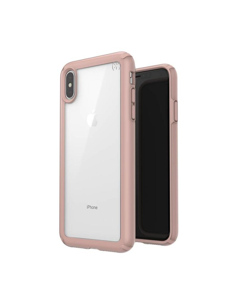 Speck Speck  Presidio Show  iPhone XS Max - Clear/Rose Gold