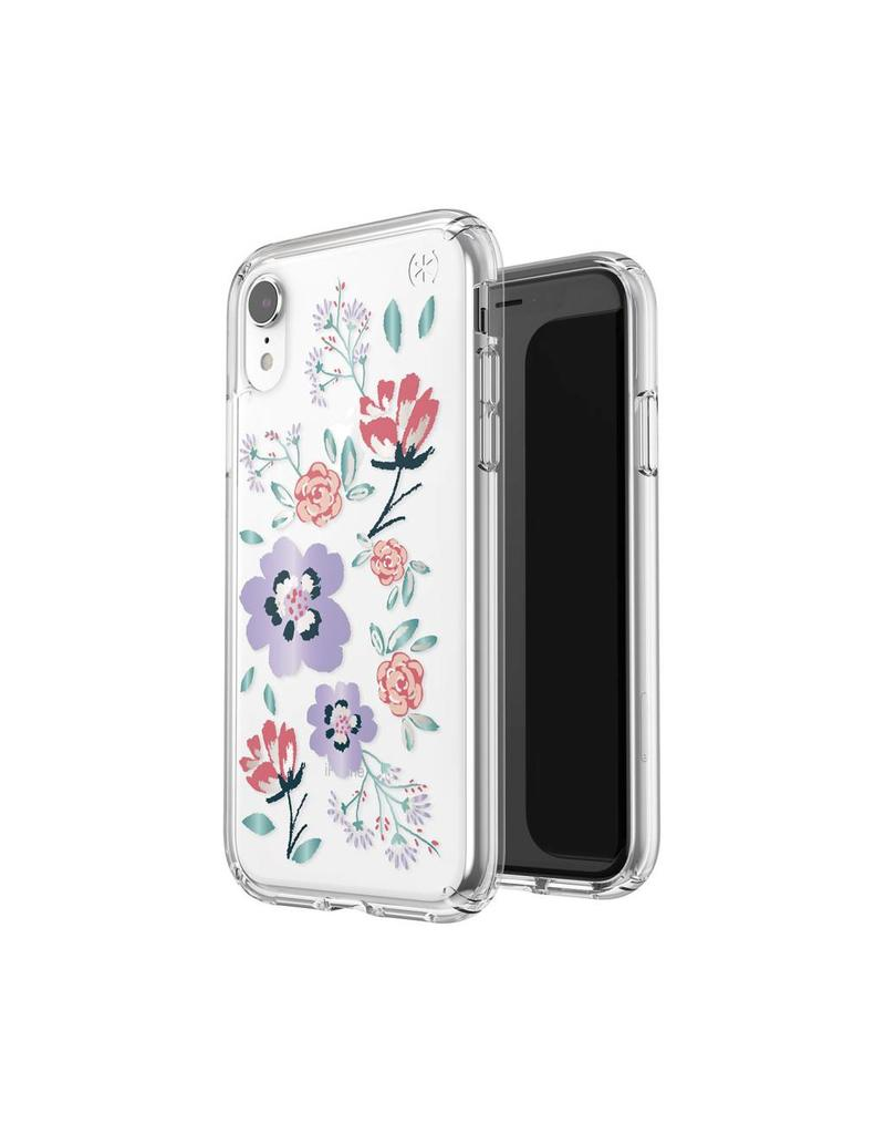 Speck Speck Presidio Clear + Print  iPhone XR - Canopy Floral Lavender/Clear
