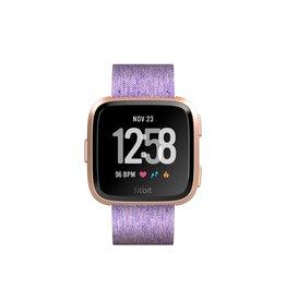 Fitbit Fitbit Versa Smartwatch Peach-Rose Gold Woven Aluminum Special Edition