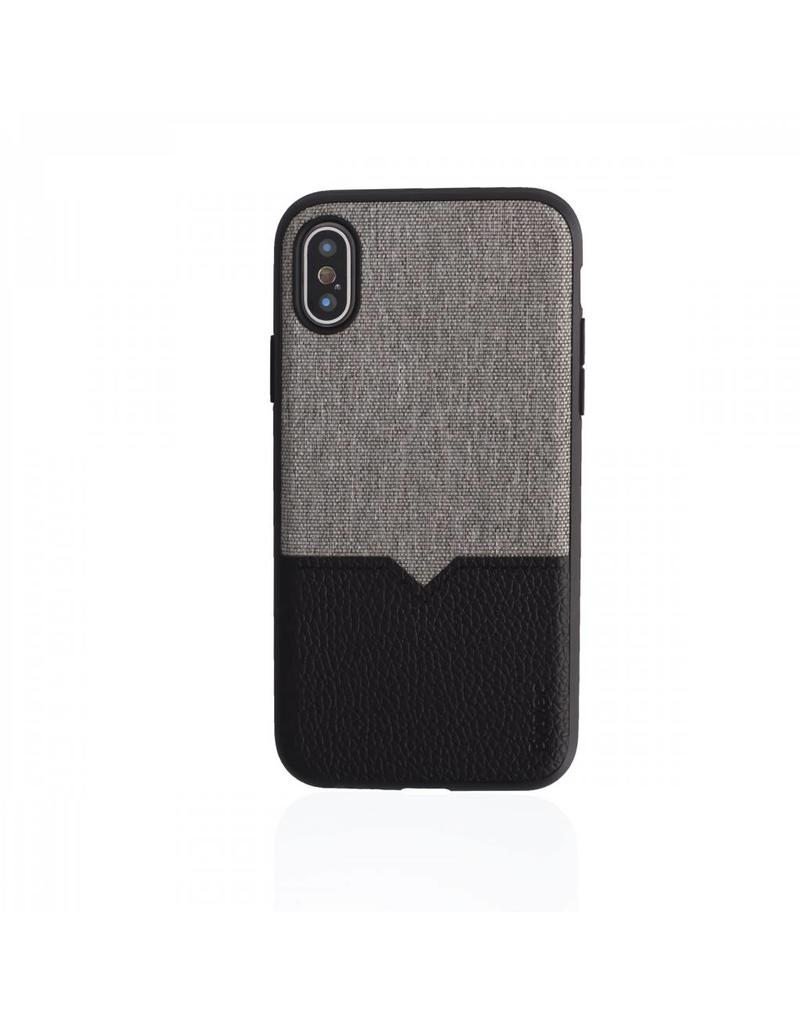 Evutec Evutec (Apple Exclusive) Northill Case w/Vent Mount iPhone XS Max - Canvas/Black