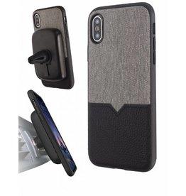 Evutec Evutec (Apple Exclusive) Northill Case w/Vent Mount iPhone XS Max - Canvas/Black