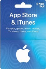 APPLE APPLE ITUNES CARD USD $15.00
