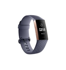 Fitbit Fitbit Charge 3 - Blue Gray Rose Gold Aluminum