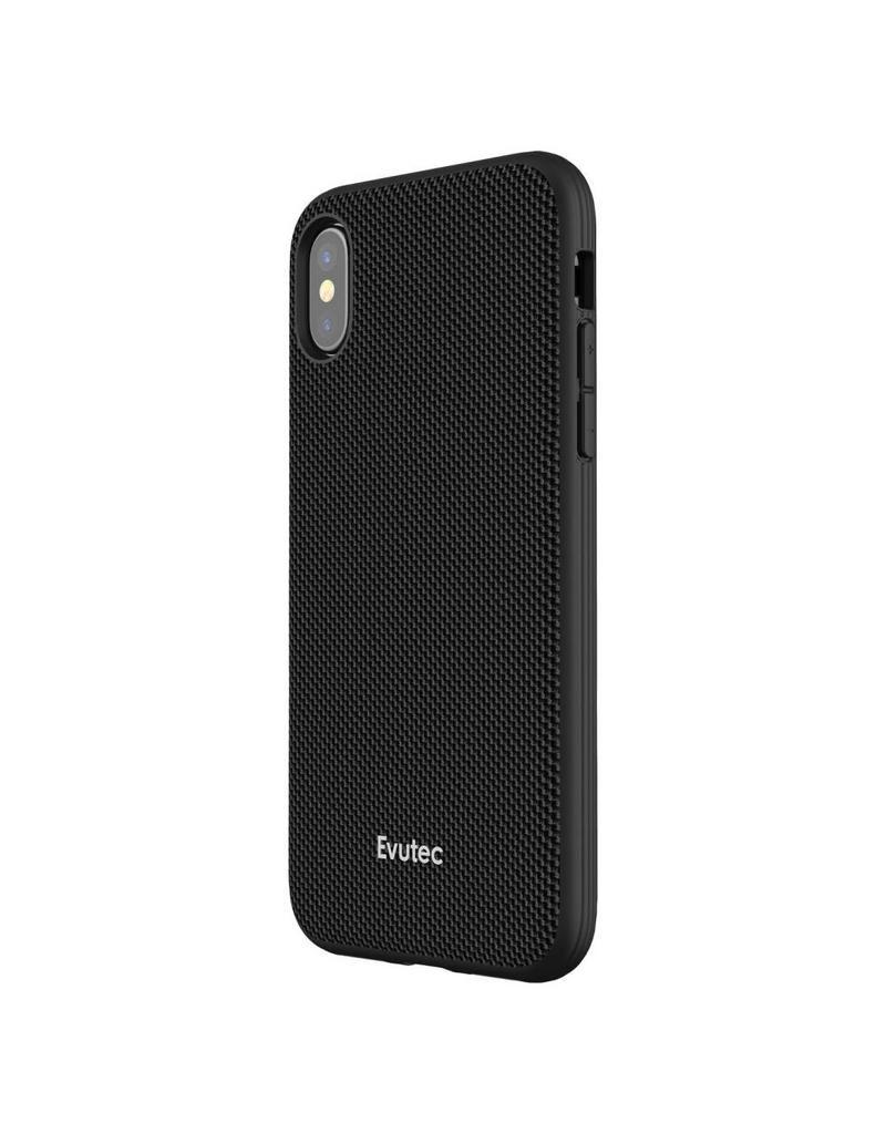 Evutec Evutec (Apple Exclusive) Ballistic Nylon Case w/Vent Mount for iPhone XR - Black