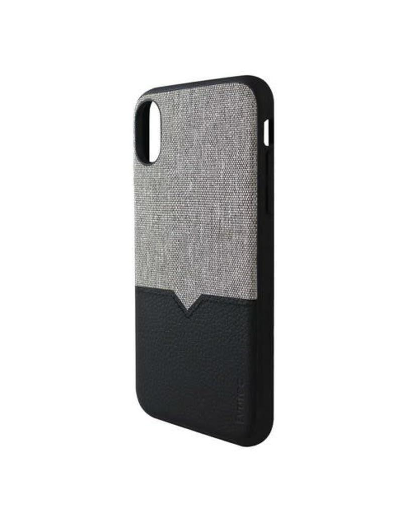 buy online 270cd acb40 Evutec Evutec Northill Series Case w/Vent Mount for iPhone XR-Canvas / Black