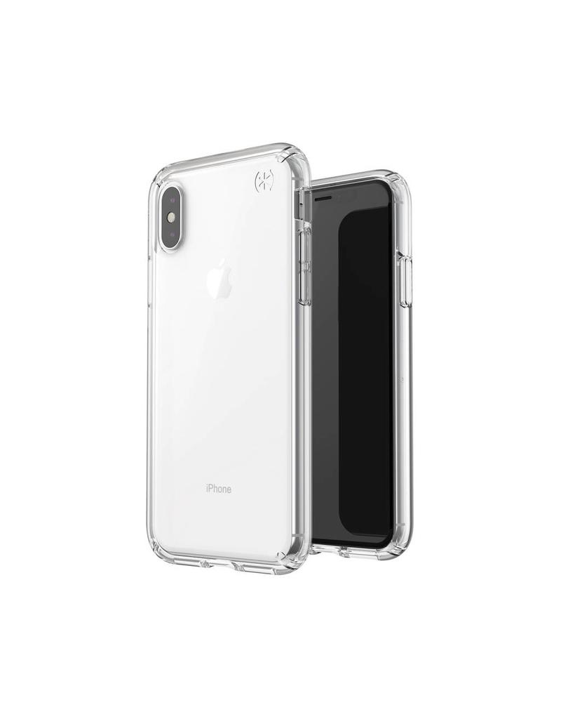 low priced d72f5 beecb Speck Speck (Apple Exclusive) Presidio Stay Clear for iPhone X/XS -  Clear/Clear