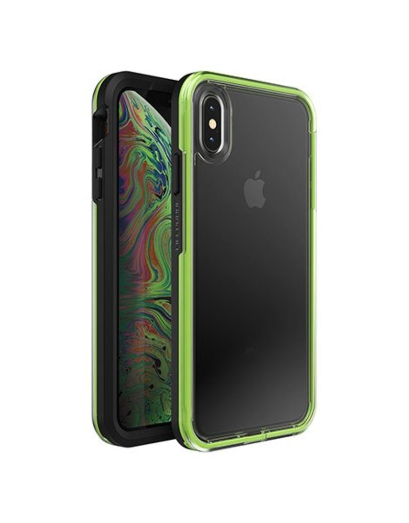 innovative design 47336 0c224 LIFEPROOF LifeProof Slam Case for iPhone XS Max - Clear/Lime/Black