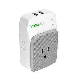 VOCOLINC VOCOlinc Smart WiFi Outlet Plug Night Light & 2 USB Charging Ports